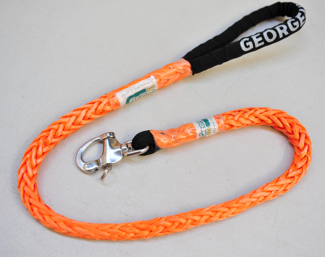 Dog Leash 11mm Orange with Quick release hook, made in Australia Strongest Leads