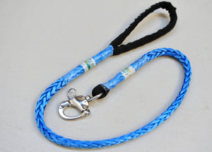 Dog Leash 9mm Blue with Quick release hook, made in Australia, Strongest Leads