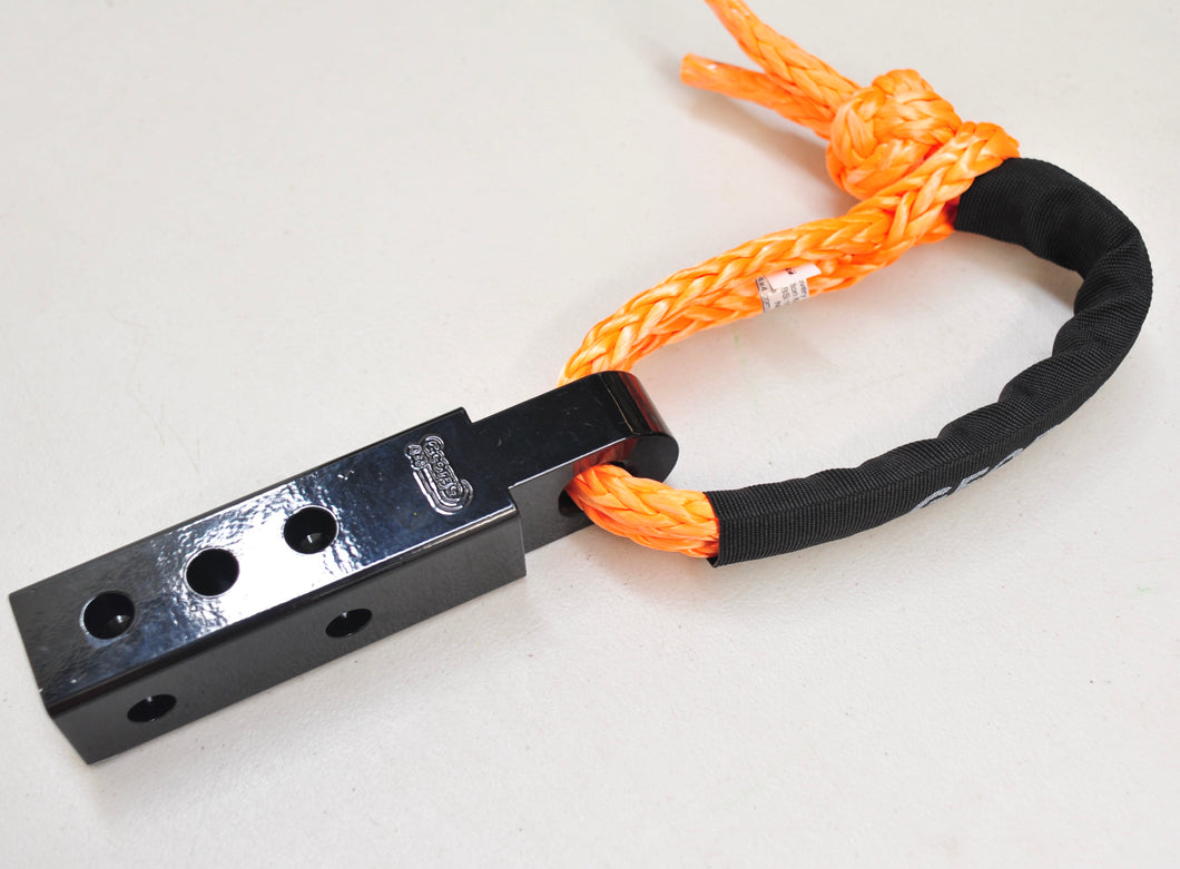 Recovery kit: Soft Shackle Hitch( Extended/Adjustable) + Diamond knot Soft Shackle 15000Kg