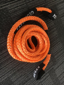 Hand Spliced Winch Extension ROPE 11mm *10m/20m,Breaking 10000kgs George 4x4, 4WD Tow Rope.