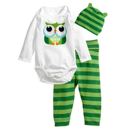 Romper Sets (Romper+Hat+Pants) Unisex