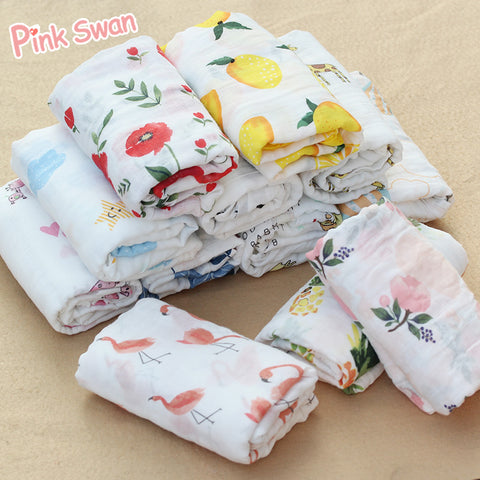 Baby Blanket 100%Cotton Prints