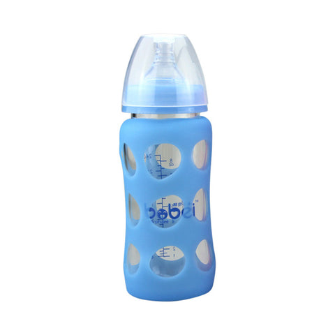 Bottle with sleeve Glass 240ml