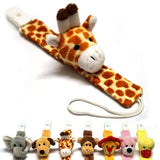 Cute Plush Baby Pacifier Holder