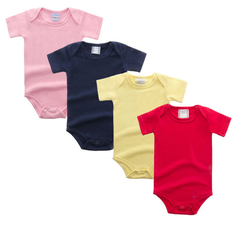 Onesie solid color unisex Short Sleeve