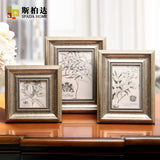 4/6/7/10 Inch Photo Frame Exquisite Picture Frame Desktop Decoration Photo Frame for Picture Baby Encadrement Photo 1 Piece