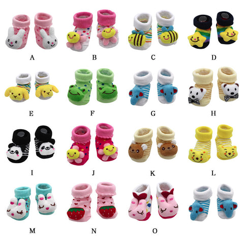 Girls Boys Anti-Slip  Slipper Shoes