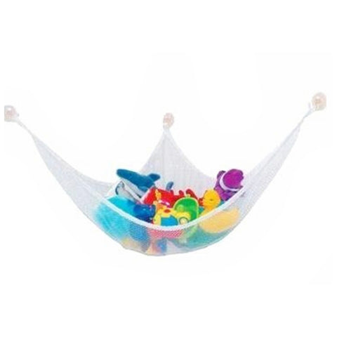 White Practical Toys Hammock Keep Baby Playroom Tidy 80*60*60cm