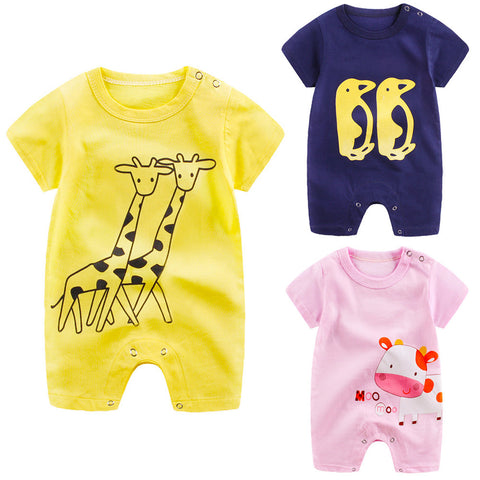 Short Sleeve newborn jumpsuit