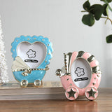 Mini 2 Inch Baby Photo Frames Cute Cartoon Shape Frames For Children Babies Boys Girls Picture Frames Birth Gifts cadre photo