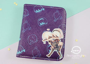 Nier Automata Wallet Pouch Bill Anime Cross leathe