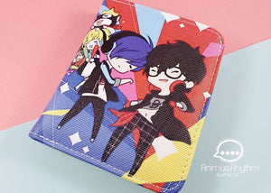 P5 dancing star night Dance Wallet Anime Cross leatherette Persona 5 P3 Persona 3