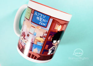 Persona 5 Cafe Leblanc 11oz Coffee Mug Cup Anime Joker akira morgana
