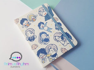 Yuri On Ice!!! Travel Notebook Journal Sketchbook