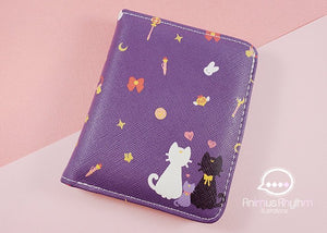 Sailor Moon Wallet Anime Cross leatherette sailormoon luna cat kitten