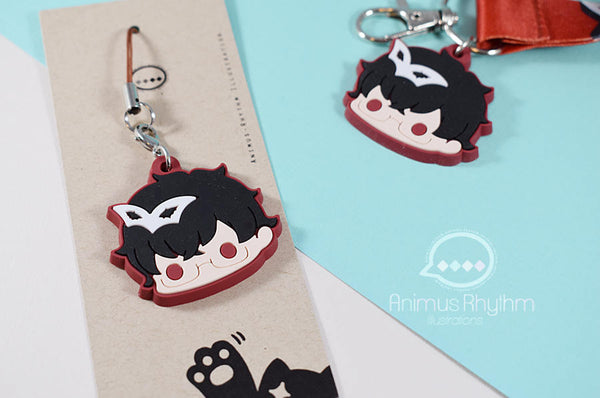 Persona 5 Joker rubber Strap 1.5 inches game anime