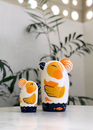 Couple of Punim Figure Limited Summer Edition - Small and Large