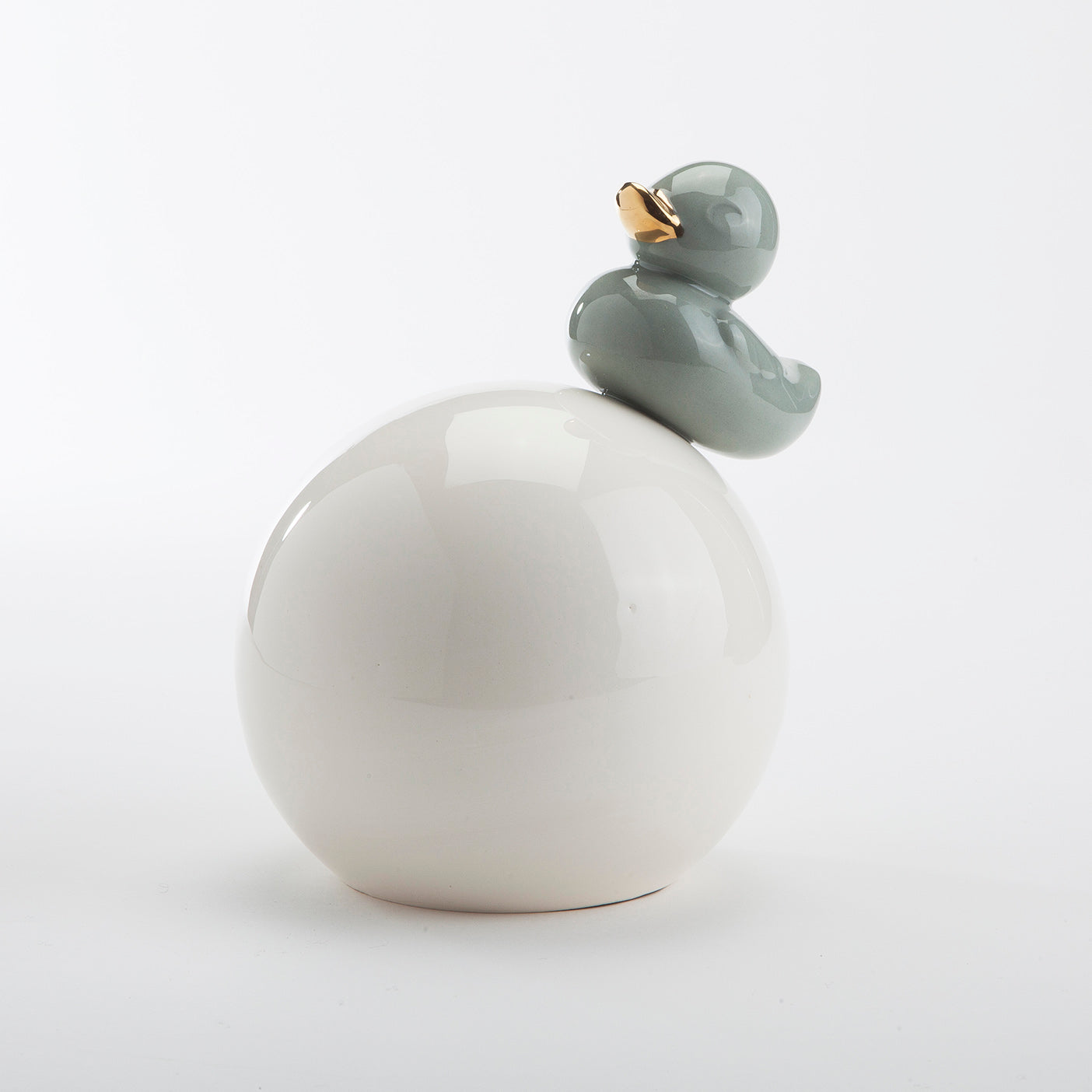 Ducky Ball | White