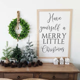 Large Christmas Decals