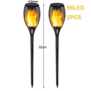 Solar Light Torch Lamp