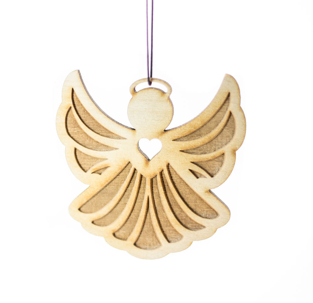 Angel – Rescentable Wood Car Air Freshener