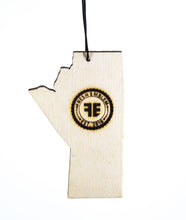 Manitoba License Plate – Rescentable Wood Car Air Freshener