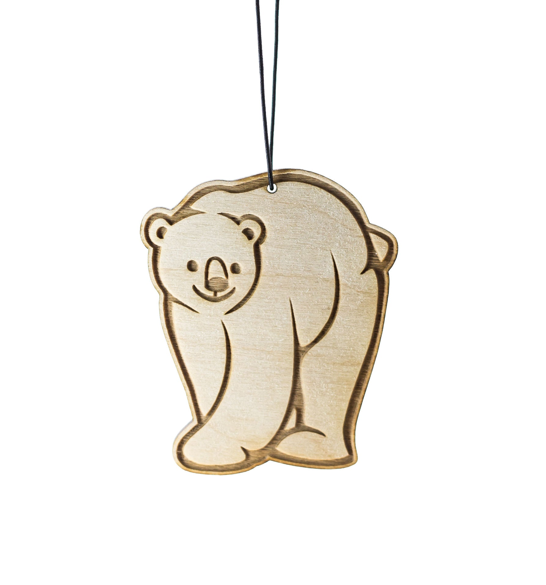 Polar Bear – Rescentable Wood Car Air Freshener