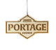 Portage + Main – Rescentable Wood Car Air Freshener