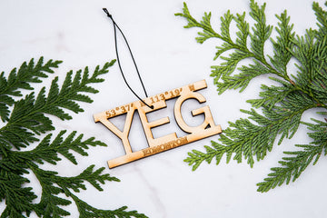 YEG – Rescentable Wood Car Air Freshener
