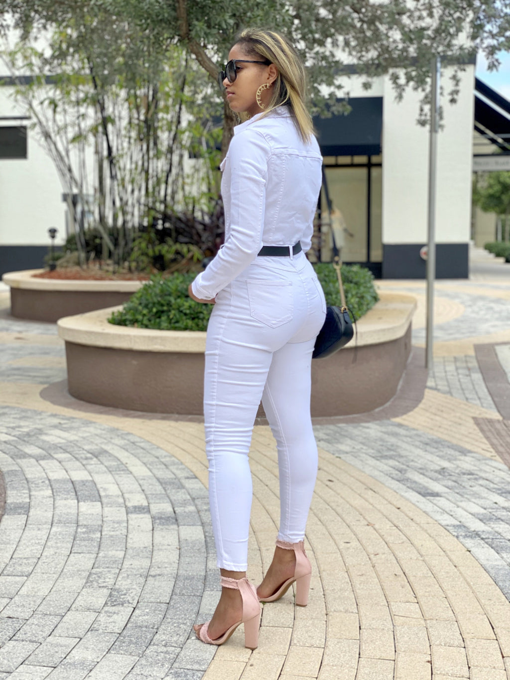 Girl Jeans Jumpsuit