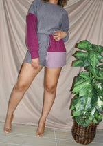 Pretty Purple Plum Short Sets