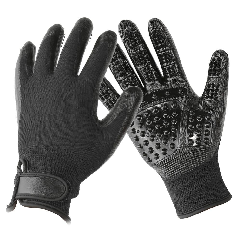 1 Pair Pet Grooming Gloves