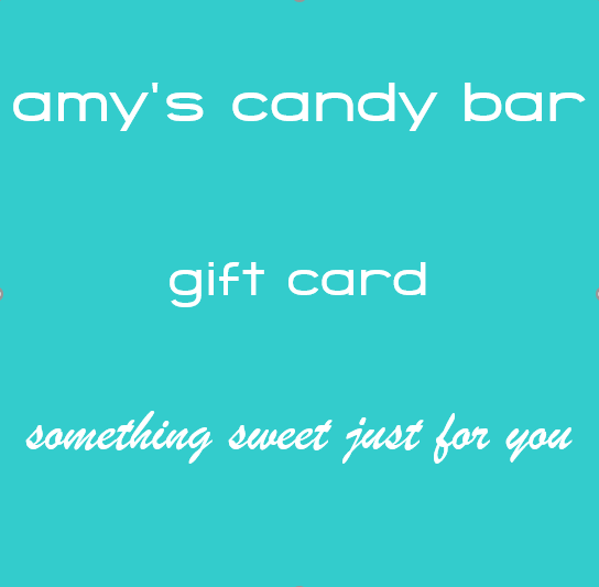 Amy's Candy Bar Gift Card