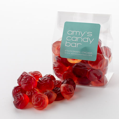 Rose Blossom Gummi Bears Amy's Candy Bar Chicago