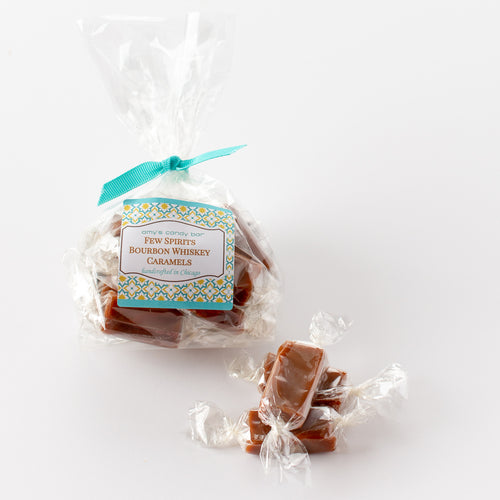 FEW Spirits Bourbon Whiskey Caramels Amy's Candy Bar Chicago