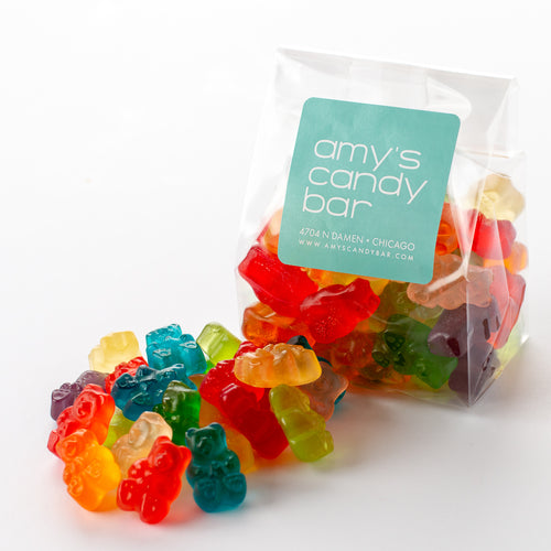 12-Flavor Gummi Bears Amy's Candy Bar Chicago