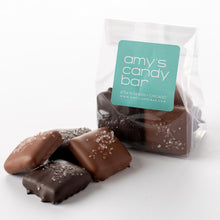 Load image into Gallery viewer, Milk and Dark Chocolate English Toffee with Sea Salt Amy's Candy Bar Chicago