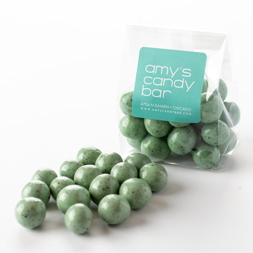 Mint Chip Malted Milk Balls Amy's Candy Bar Chicago