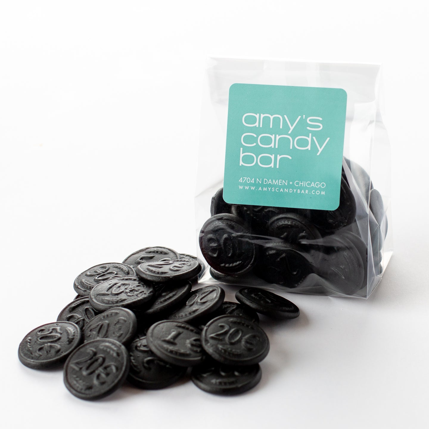 Money Salt Licorice Amy's Candy Bar Chicago