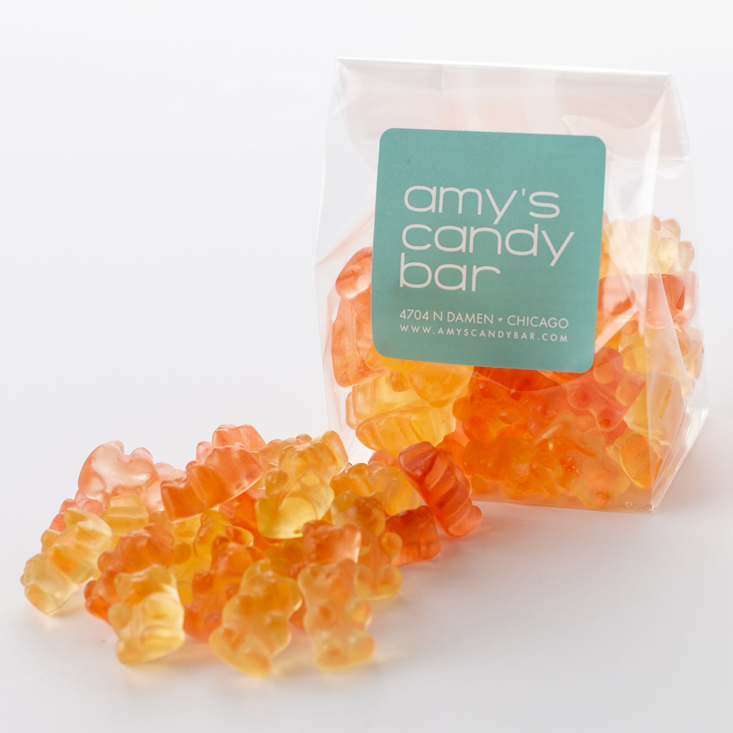 Prosecco Gummi Bears Amy's Candy Bar Chicago