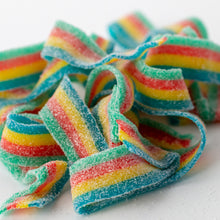Load image into Gallery viewer, Sour Rainbow Licorice Belts Amy's Candy Bar Chicago