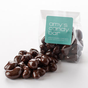 Dark Chocolate Sea Salt Cashews Amy's Candy Bar Chicago