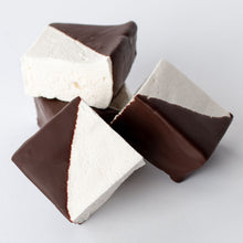 Load image into Gallery viewer, Vanilla Bean Marshmallows Dipped in Belgian Dark Chocolate Amy's Candy Bar Chicago