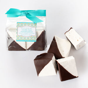 Vanilla Bean Marshmallows Dipped in Belgian Dark Chocolate Amy's Candy Bar Chicago