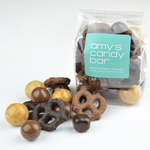 Sweet and Salty Chocolate Mix