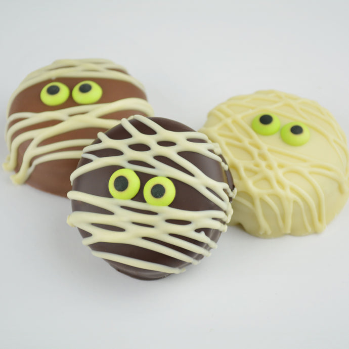 Belgian Chocolate Mummy Oreos