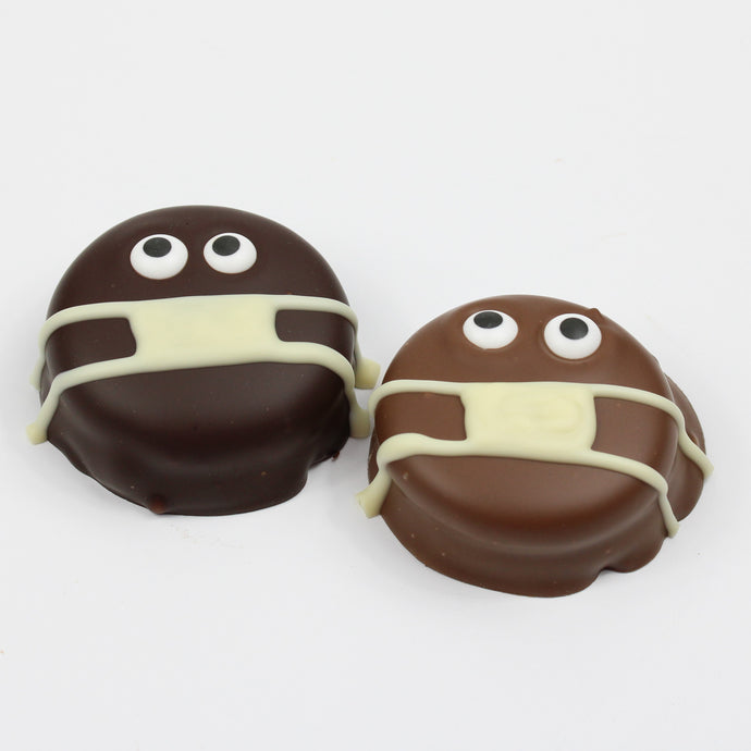 Belgian Chocolate Mask Oreos