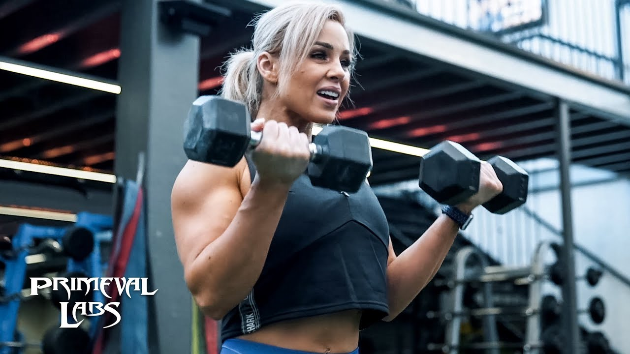 Hypertrophy Back & Shoulders Workout | Stephanie Sanzo aka StephFitMum
