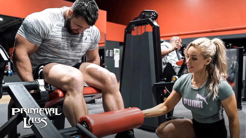 Stephanie Sanzo & Regan Grimes Smash Legs