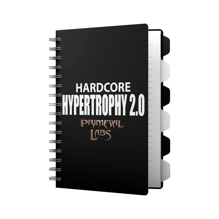 HARDCORE HYPERTROPHY 2.0 WORKOUT E-BOOK